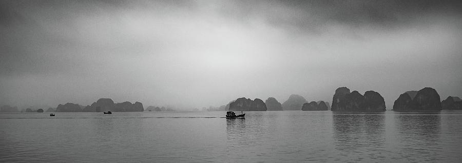 Karsts in Halong Bay by Rob Hemphill