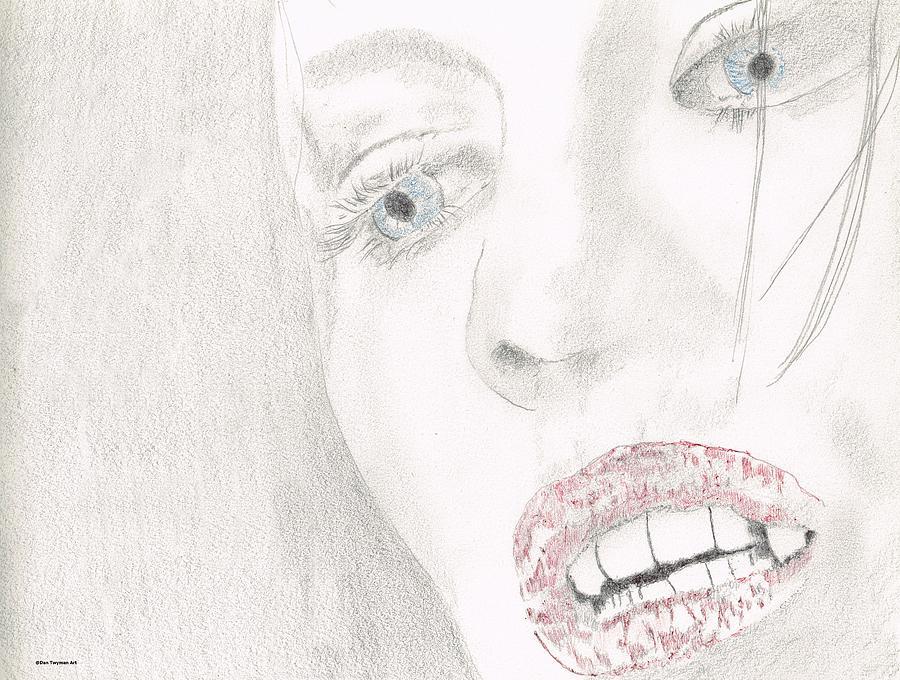 Kate Beckinsale Underworld 3 Drawing