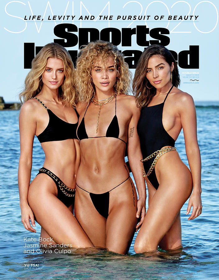 Kate Bock Jasmine Sanders Olivia Culpo Swimsuit 2020 Sports Illustrated Cover Photograph by Sports Illustrated