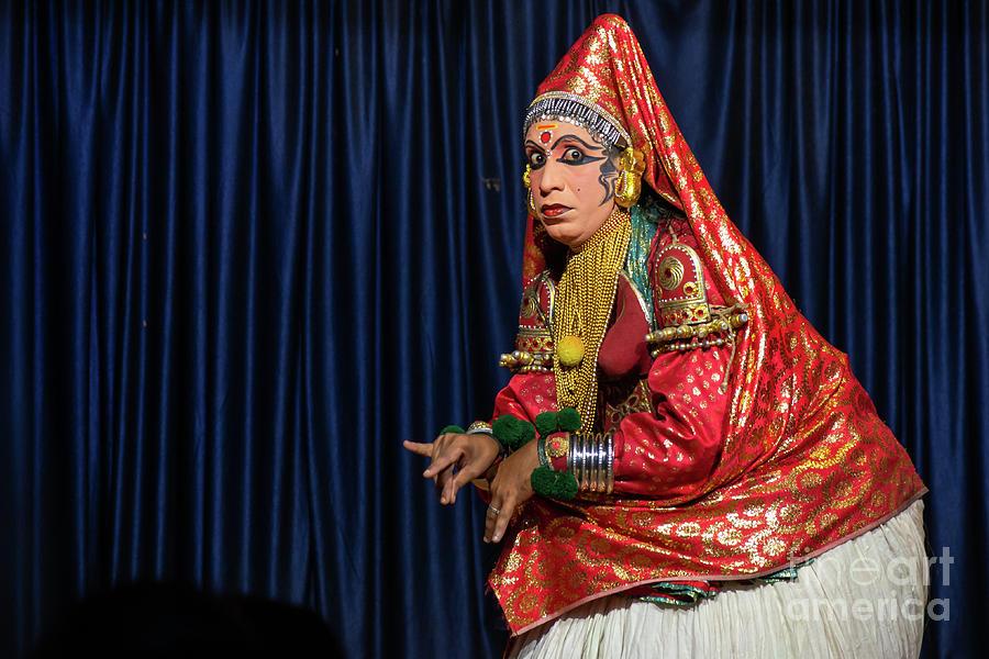 Indian Photograph - Kathakali Dance by Aayan Arts