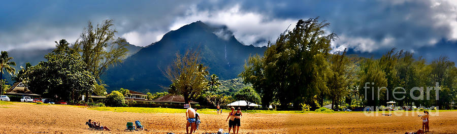 Kauai Beach Moment by Gary F Richards