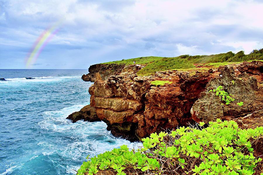 Kauai Punahoa Point Rainbow Photograph