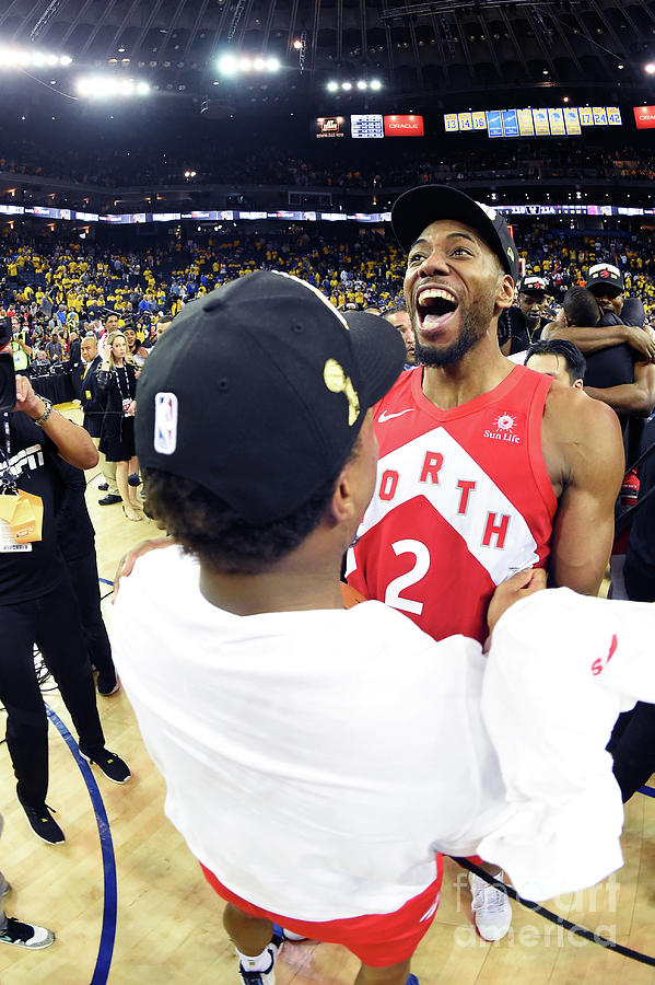 Kawhi Leonard and Kyle Lowry Photograph by Andrew D. Bernstein