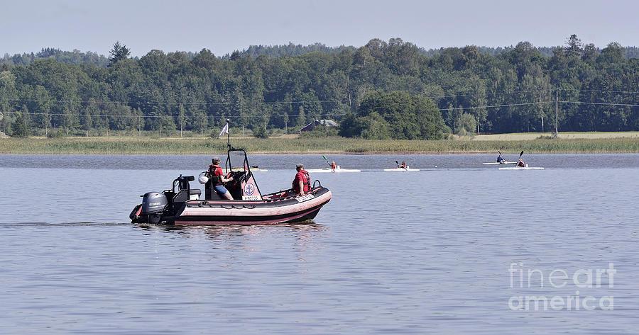 Kayaks 2 Photograph