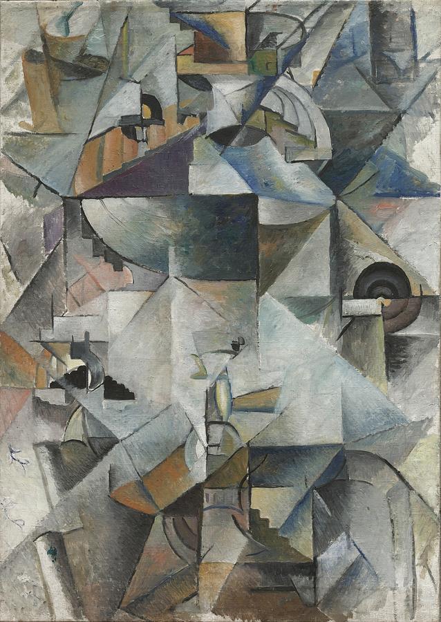 Kazimir Malevich Samovar Painting