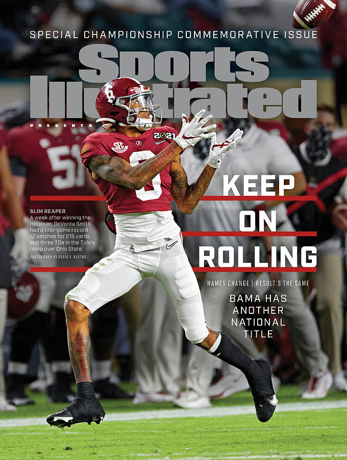 Keep on Rolling Alabama Championship Sports Illustrated Cover Photograph by Sports Illustrated