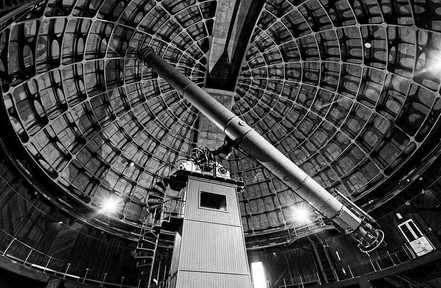 Keep Your Eyes on the Stars -- Telescope at Lick Observatory near San Jose, California by Darin Volpe