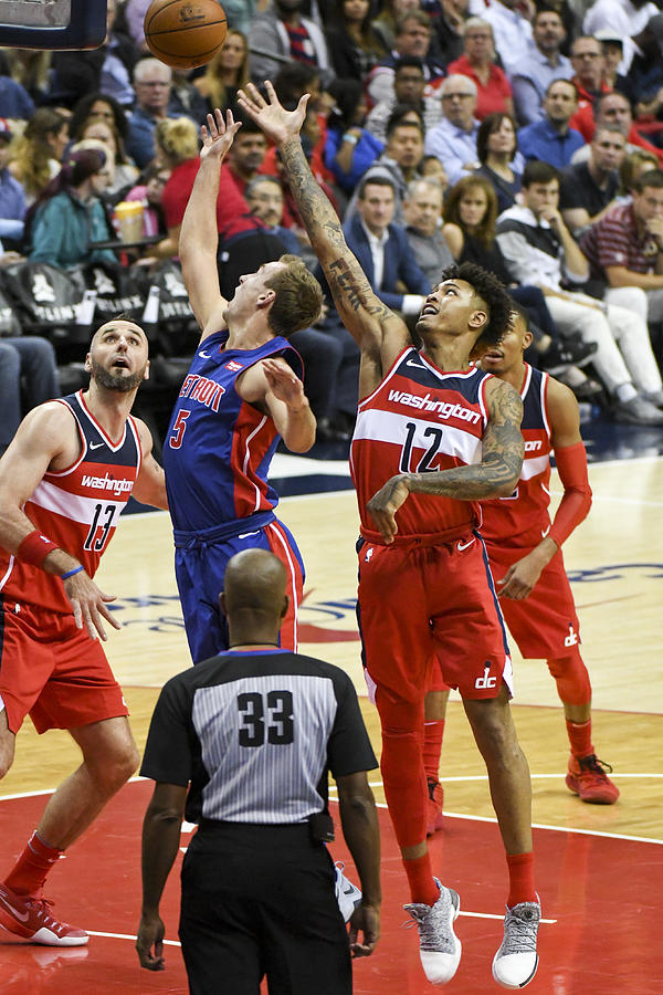 Kelly Oubre and Luke Kennard Photograph by Icon Sportswire