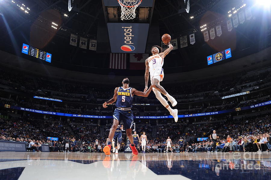 Kelly Oubre Photograph by Bart Young