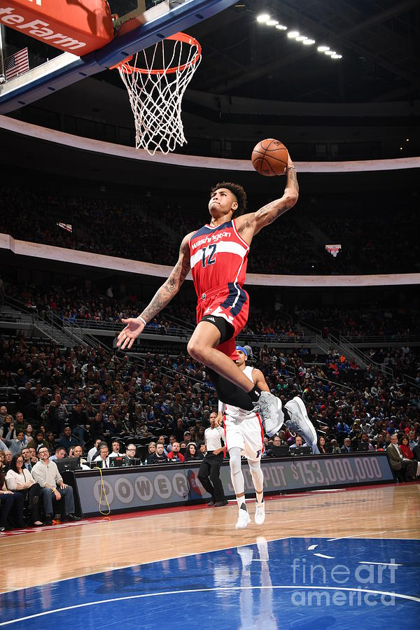 Kelly Oubre Photograph by Chris Schwegler