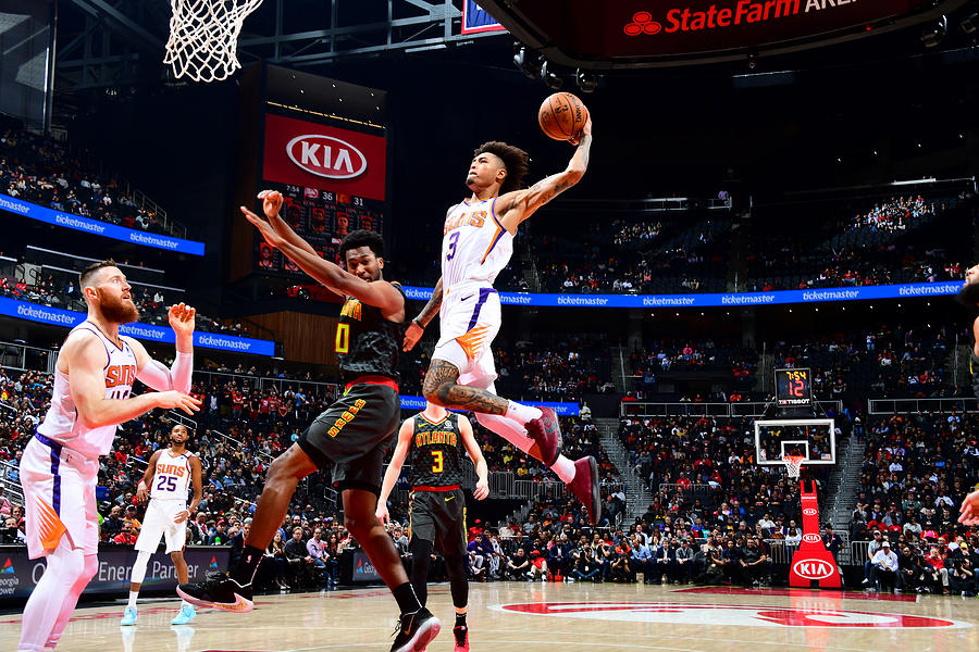 Kelly Oubre Photograph by Scott Cunningham