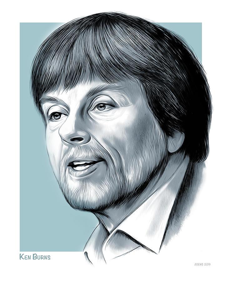 Ken Burns Drawing