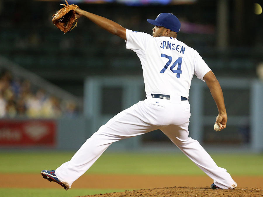 Kenley Jansen Photograph by Stephen Dunn