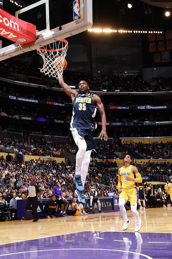 Kenneth Faried Photograph by Andrew D. Bernstein