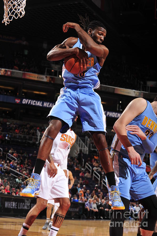Kenneth Faried Photograph by Barry Gossage