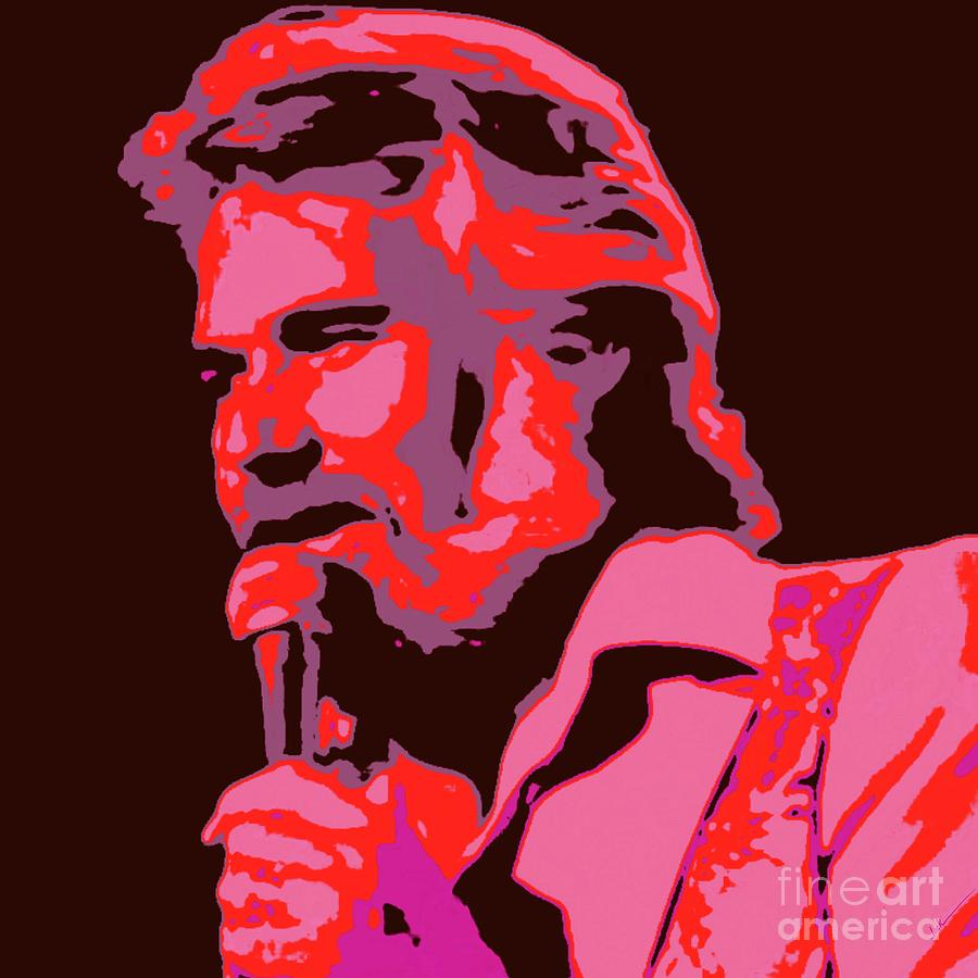 Kenny Rogers Painting - Kenny Rogers by Jack Bunds