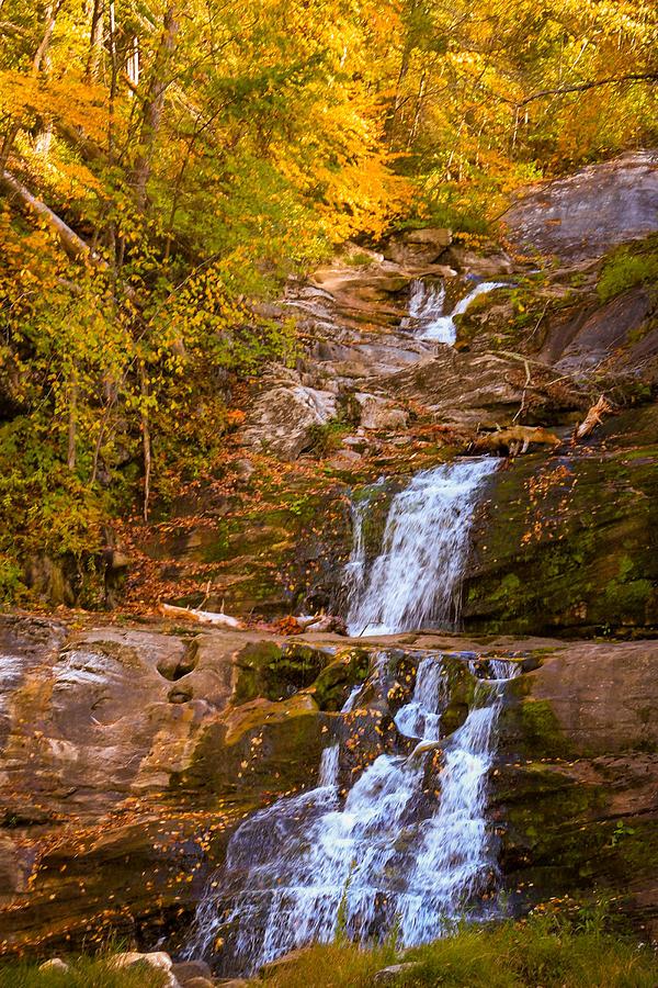 Kent Falls In Autumn Photograph
