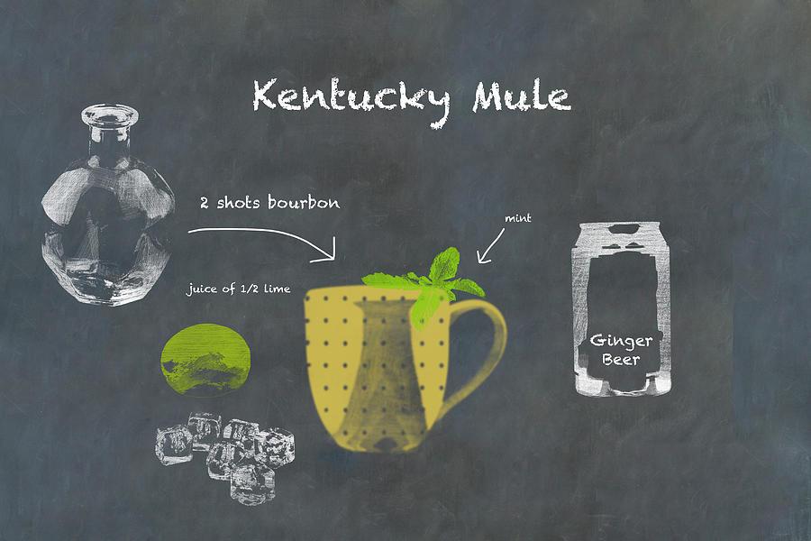 Kentucky Mule Cocktail Recipe Photograph