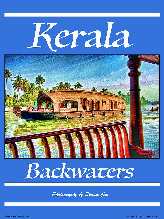 Kerala Travel Poster Photograph