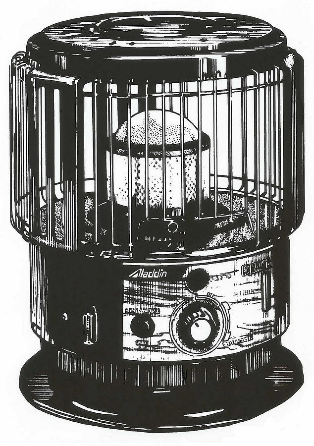 Kerosene Heater by Barbara Keith