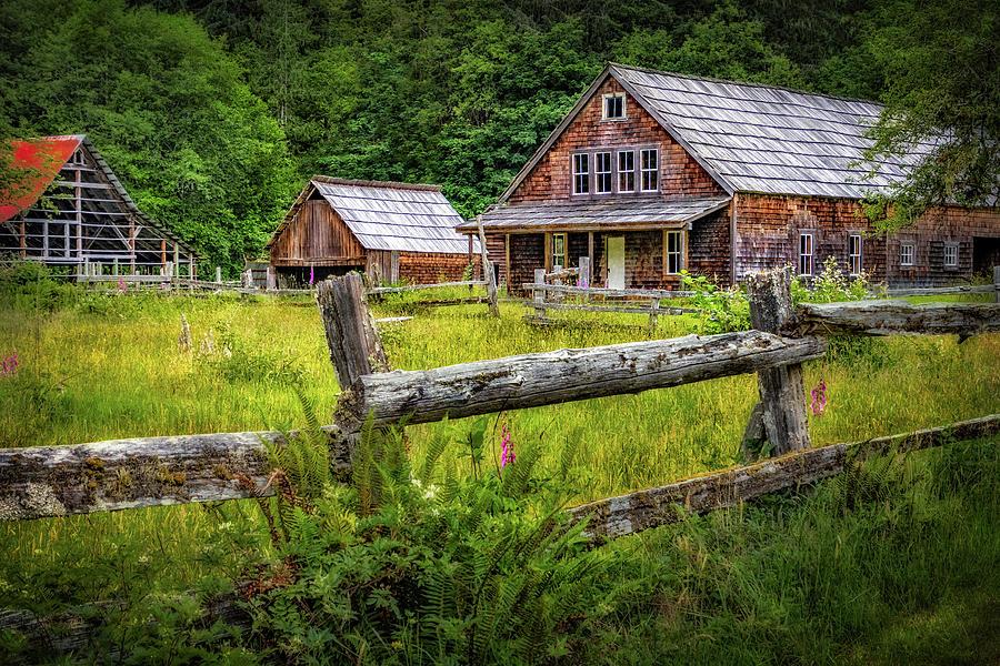 Kestner Homestead near Lake Quinault by Carolyn Derstine