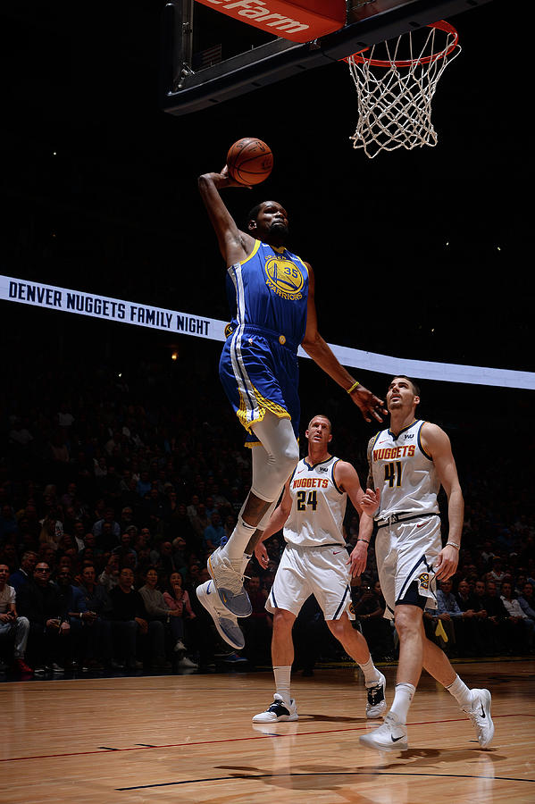 Kevin Durant Photograph by Bart Young