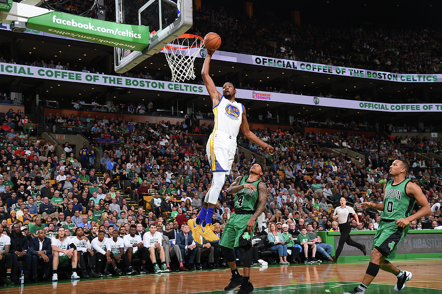 Kevin Durant Photograph by Brian Babineau