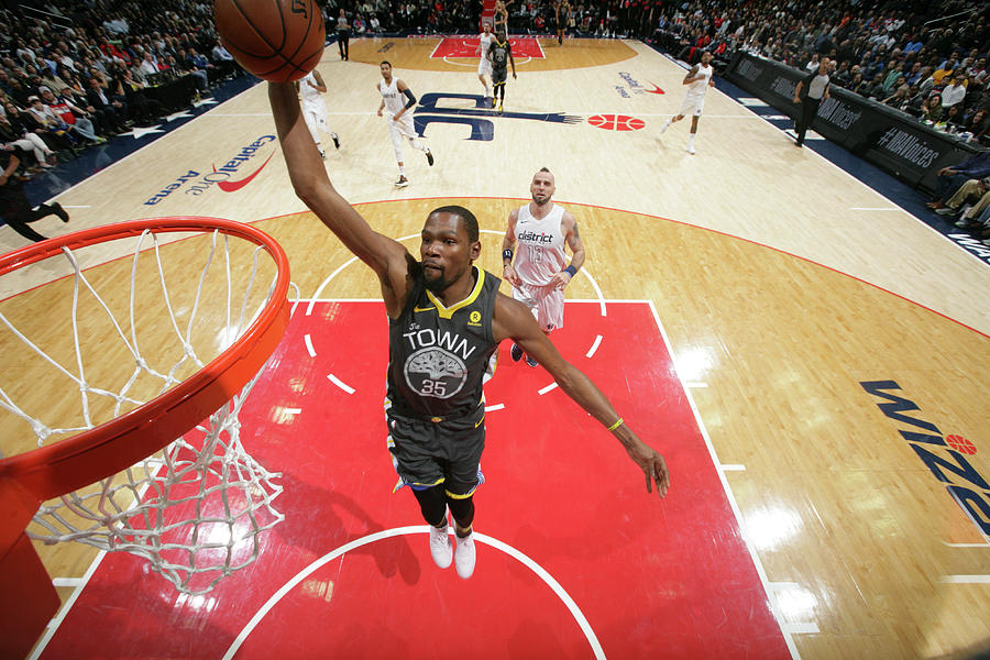 Kevin Durant Photograph by Ned Dishman