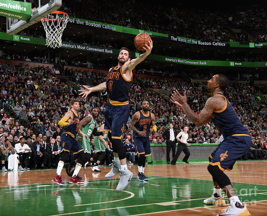 Kevin Love Photograph by Brian Babineau