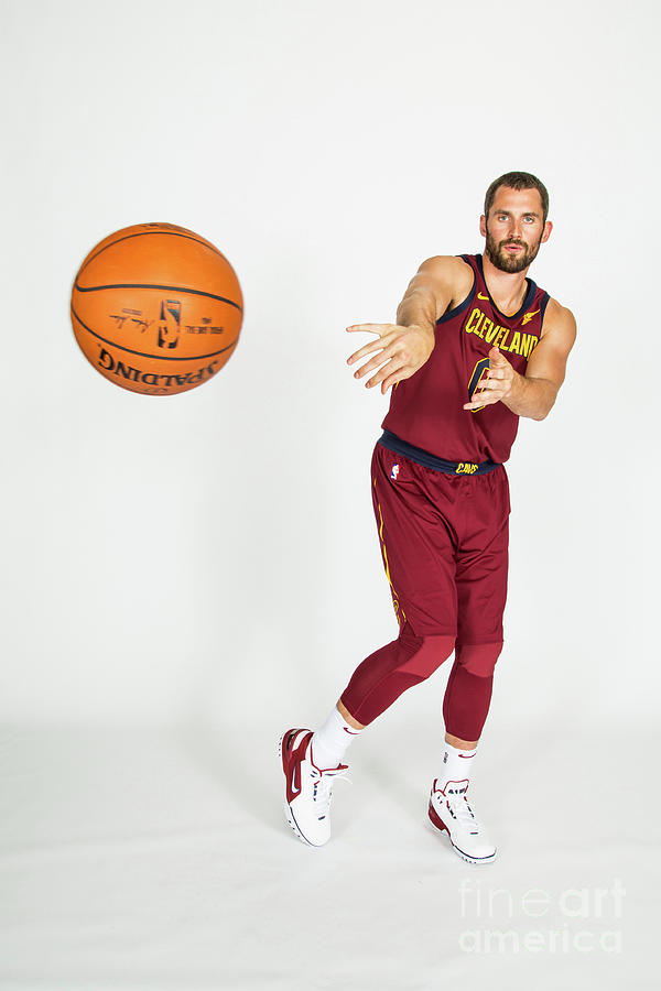 Kevin Love Photograph by Michael J. Lebrecht Ii