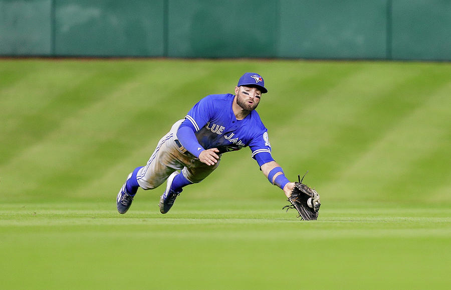 Kevin Pillar Photograph by Bob Levey