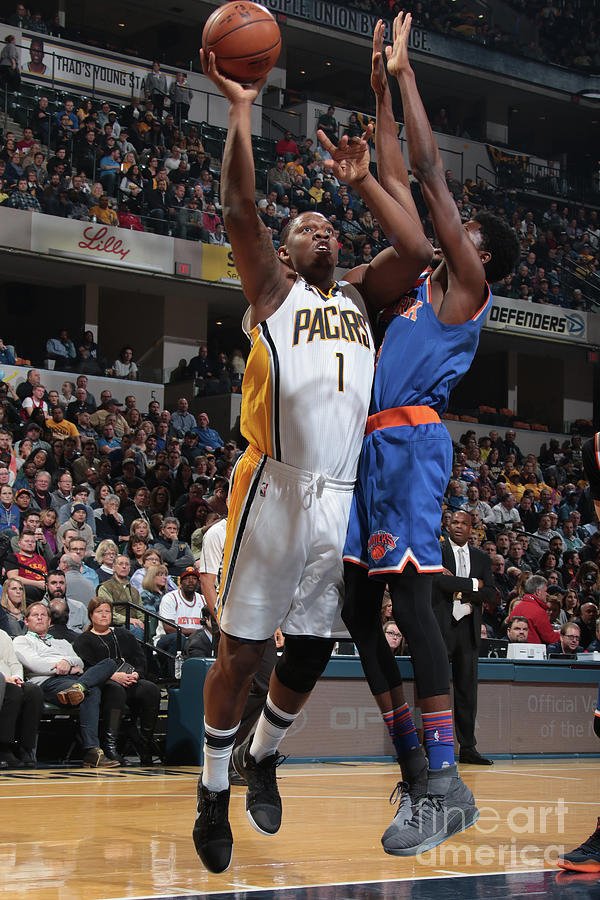 Kevin Seraphin Photograph by Ron Hoskins