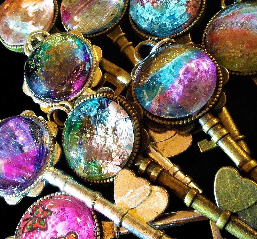 Key Jewelry - Key To My Heart by Mary Poliquin - Policain Creations