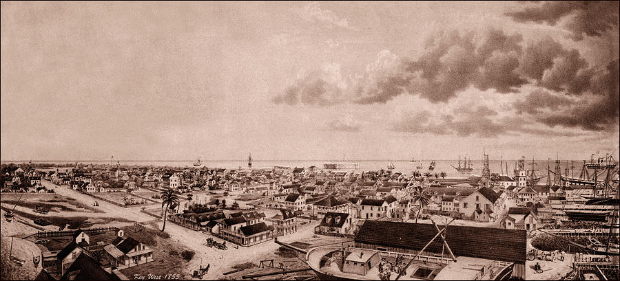 Key West 1855 Photograph