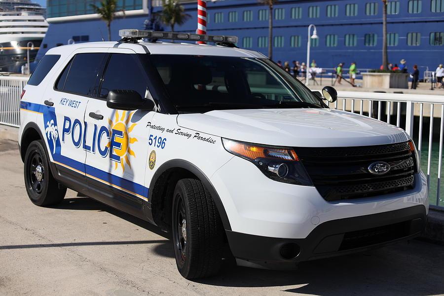 Key West Police Car by Blair Damson