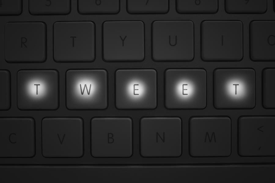 Keys on keyboard Photograph by Mike Kemp