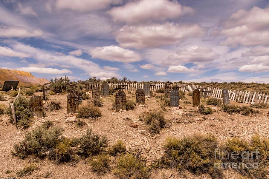 Keystone Gulch Graveyard Photograph