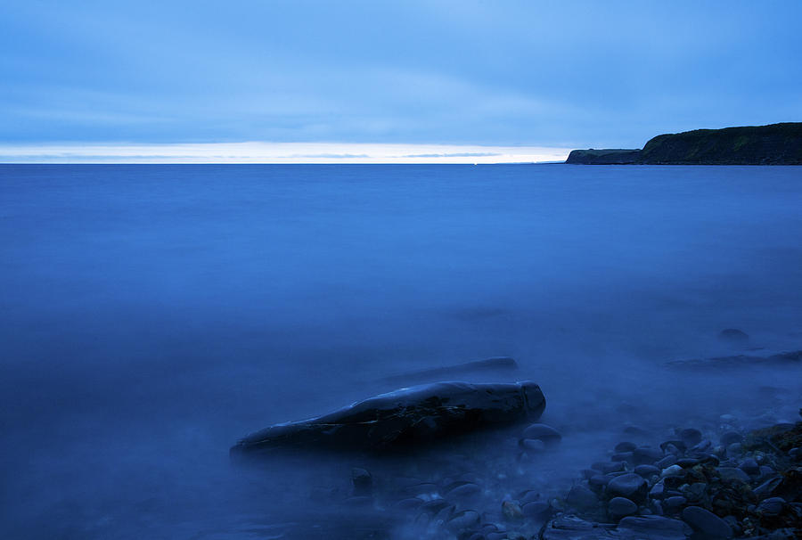 Kimmeridge bay at dusk by Ian Middleton