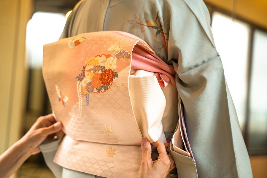 Kimono dressing Photograph by Promo_Link