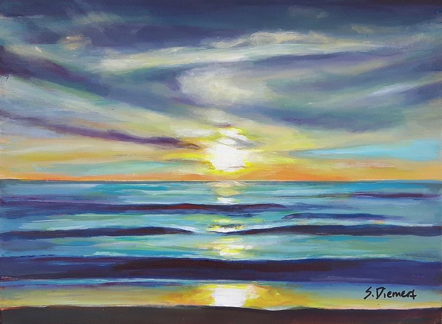 Kincardine Sunset II Painting