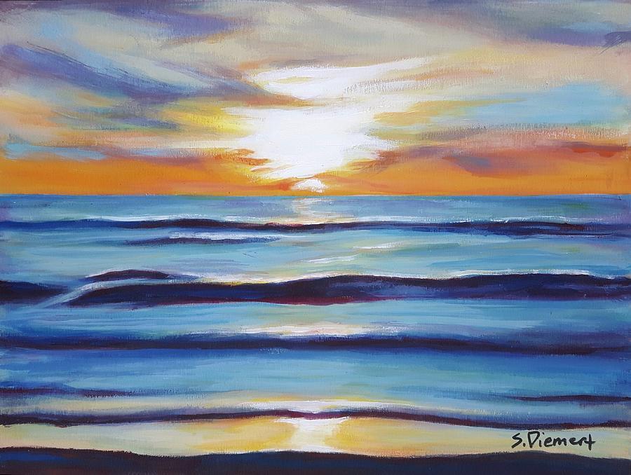 Kincardine Sunset Iv Painting