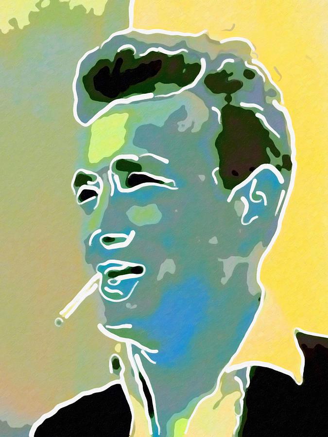 King of Cool Digital Art by David Hansen
