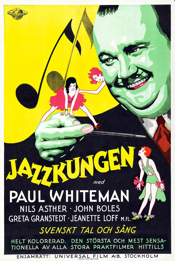 king Of Jazz, With Paul Whiteman, 1930 Mixed Media