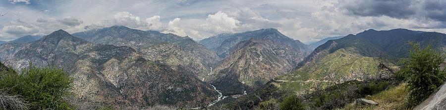 Kings Canyon Overlook Panorama Photograph