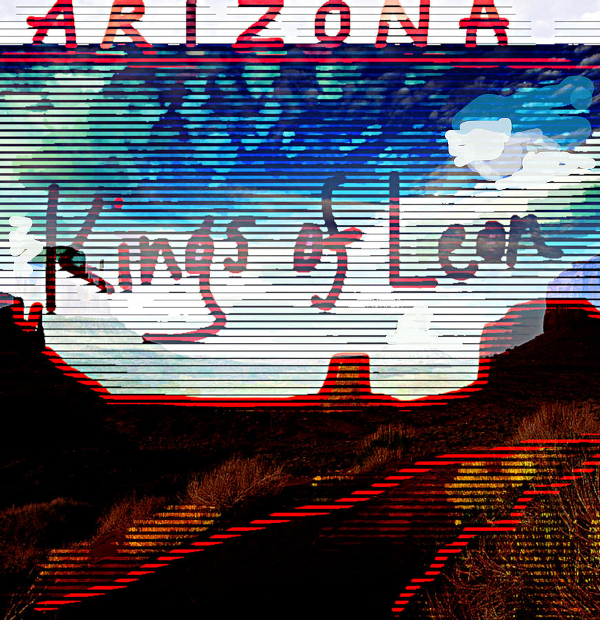 Kings Of Leon Arizona 2007  by Enki Art