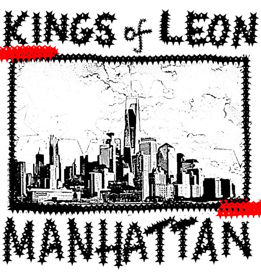 Kings of Leon Manhattan 2008 by Enki Art