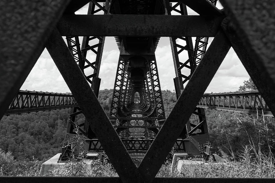 Kinzua Bridge Perspective Photograph