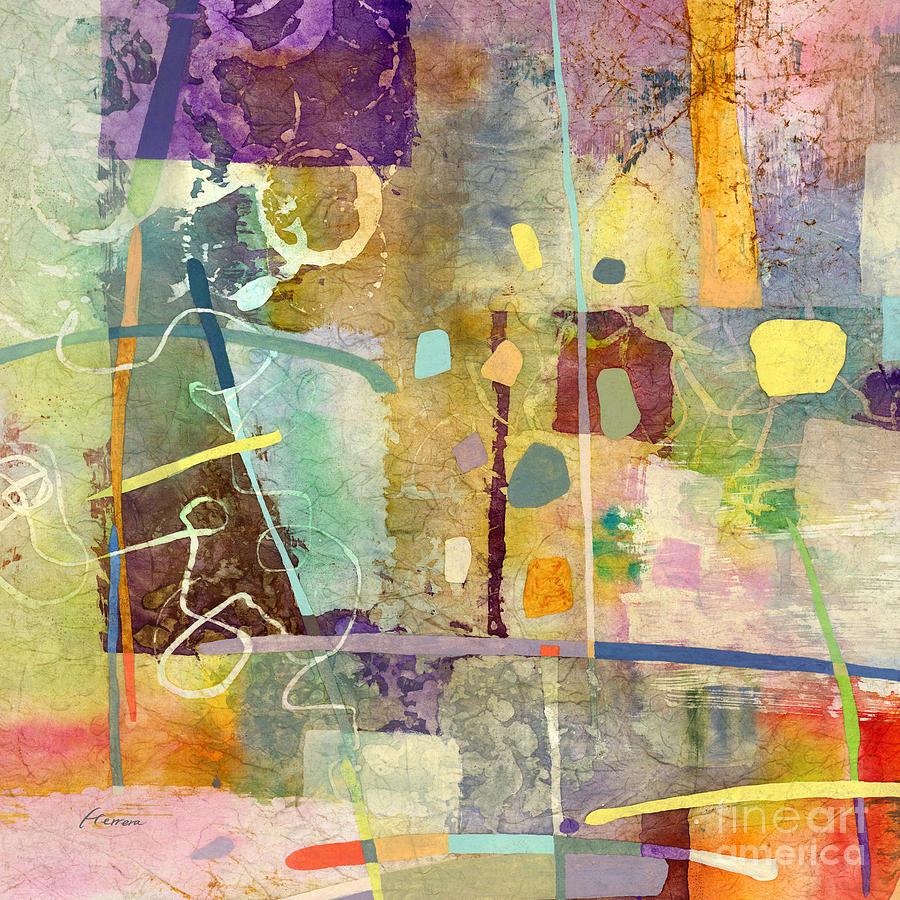 Kismet-cyan Painting