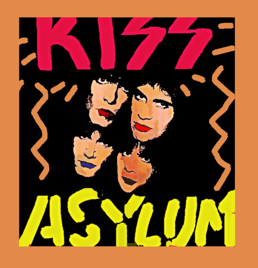Kiss Asylum art by Enki  by Enki Art