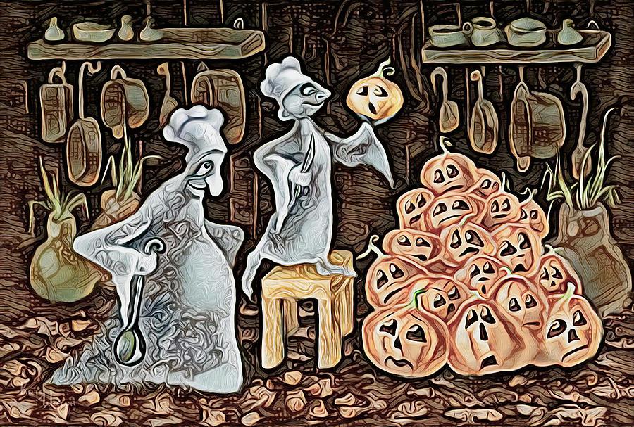 Kitchen Abstract Digital Art